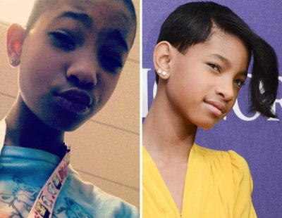 Willow Smith se rapa el pelo