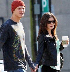 Lucy Hale y su novio Chris Zylka