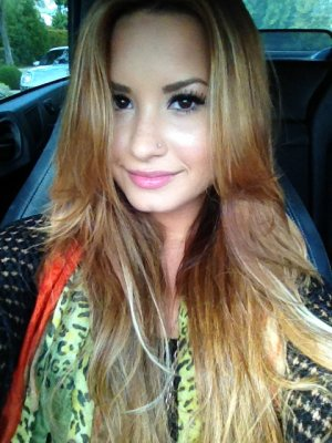 Demi Lovato ahora es rubia