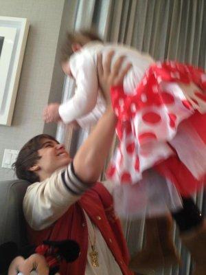 Justin Bieber conoze a su esposa de 6 años