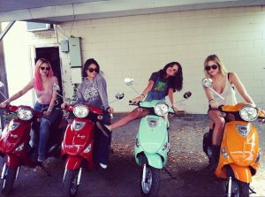 "Vanessa, Selena y Ashley chicas de ""Spring Breakers"""