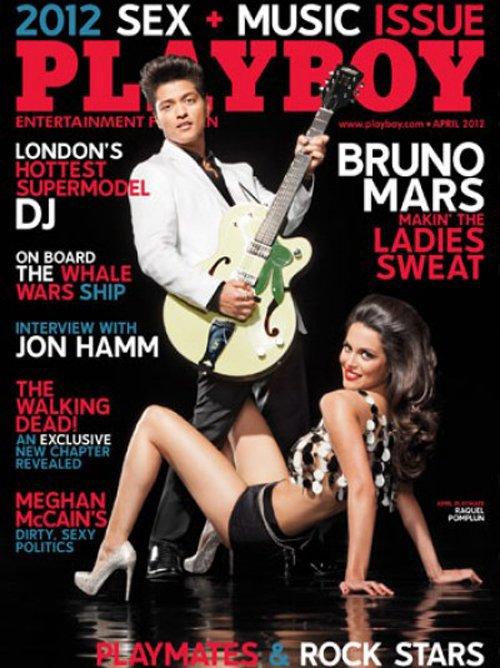 Bruno Mars: en Playboy abril 2012