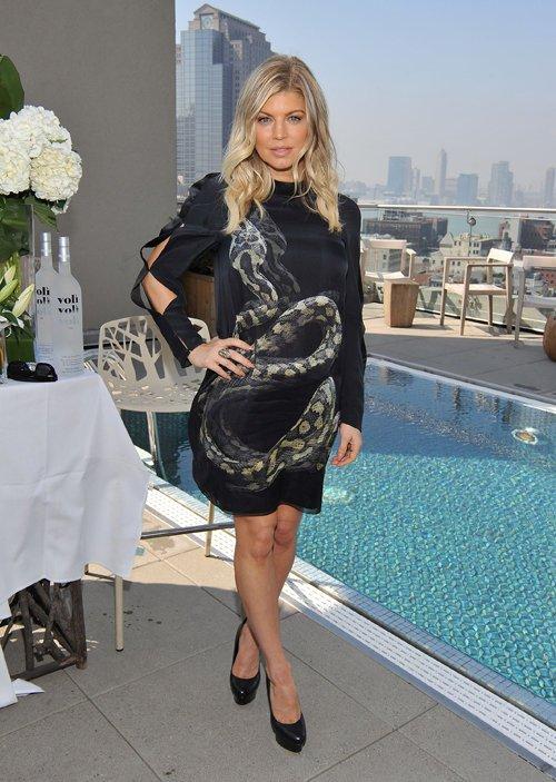 El vestido 3D de Fergie (Black Eyed Peas)