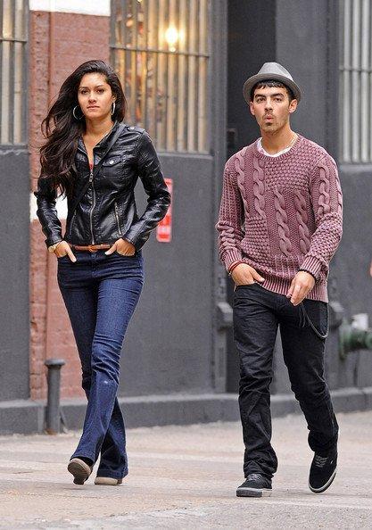 Joe Jonas y su nueva novia