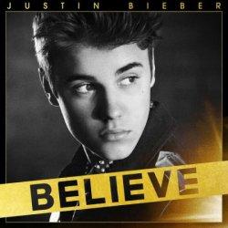 Caratula de el  álbum BELIEVE de Justin Bieber