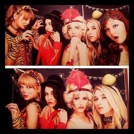 Taylor Swift tigressa en la fiesta