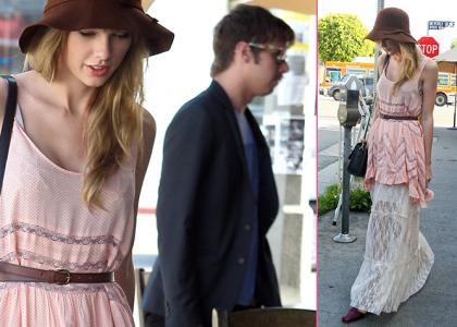 Taylor Swift cita con Mark Foster