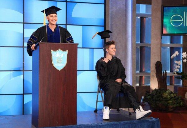 La graduación de Justin Bieber