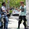 Justin Bieber pega un paparazzi