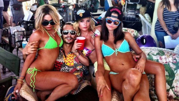 Las fotos de Spring Breakers