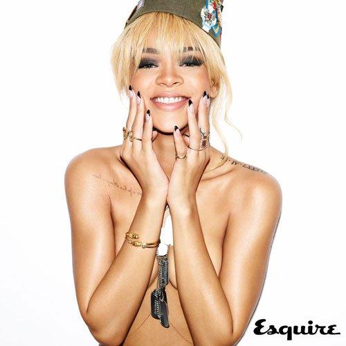 Rihanna más sexy que nunca en Esquire