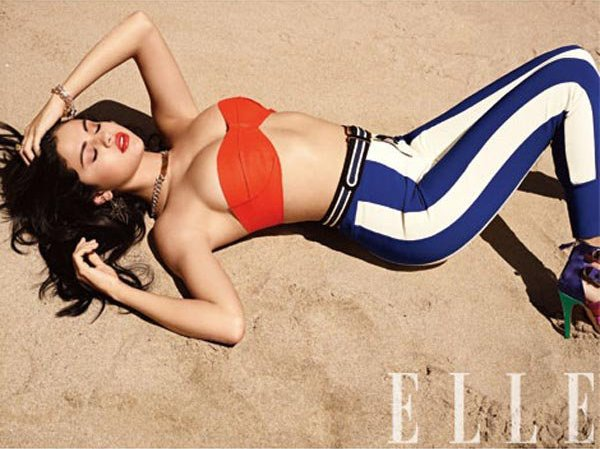 Selena Gomez portada de Elle