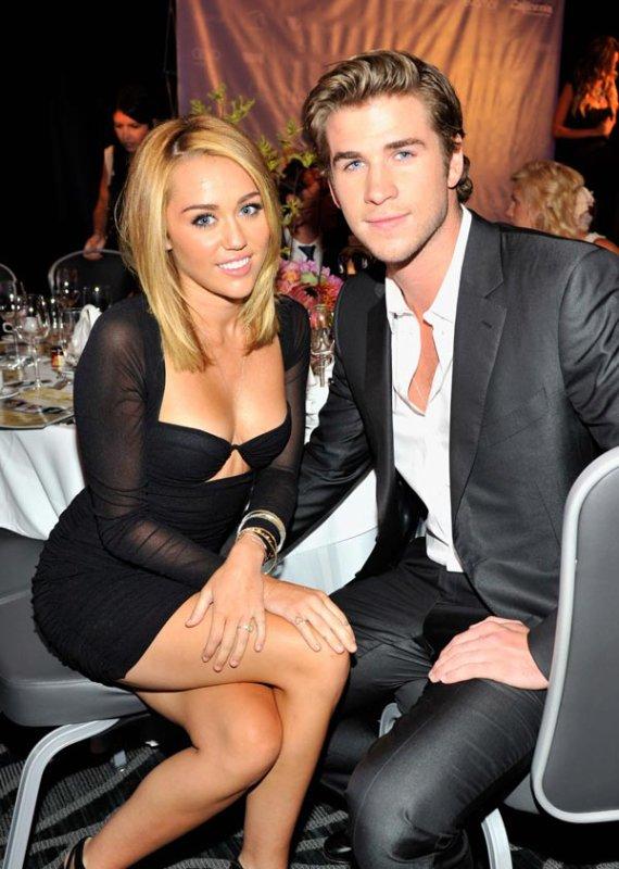 Miley y Liam: premios AIF 2012