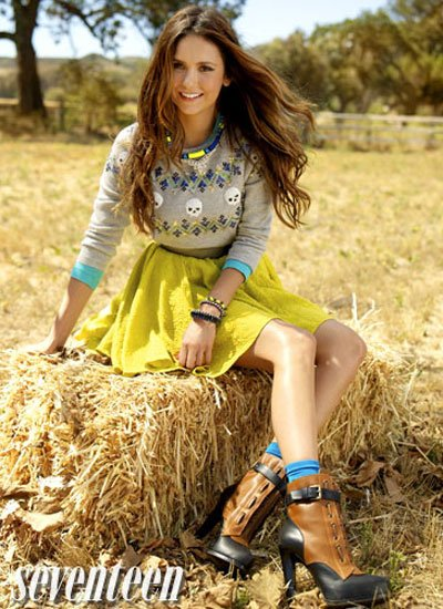 Seventeen Octubre 2012: Nina Dobrev