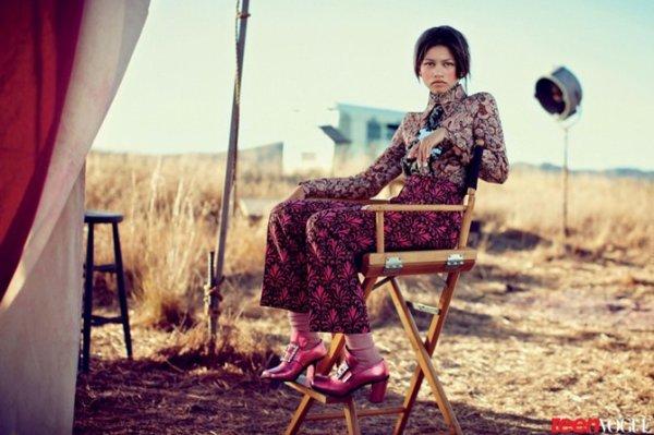 Zendaya: fotos de Teen Vogue