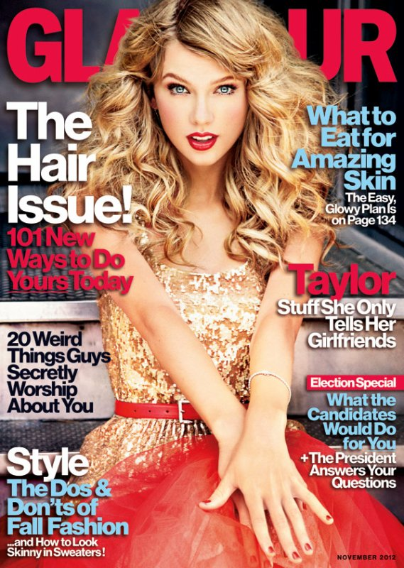 GLAMOUR: Taylor Swift