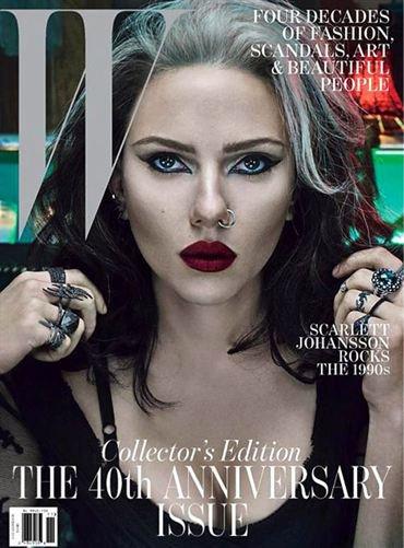 W Magazine: Scarlett Johanson