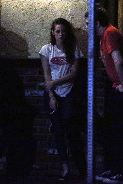 Robert Pattison y Kristen Stewart juntos en publico después de su infidelidad