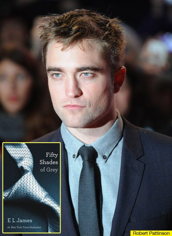 "Robert Pattison sera Christian Grey en ""Cincuenta sombraS de Grey"""