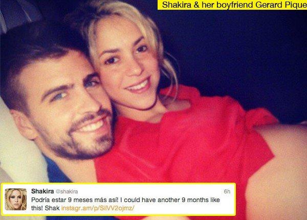 Shakira: Encantada con su embarazo