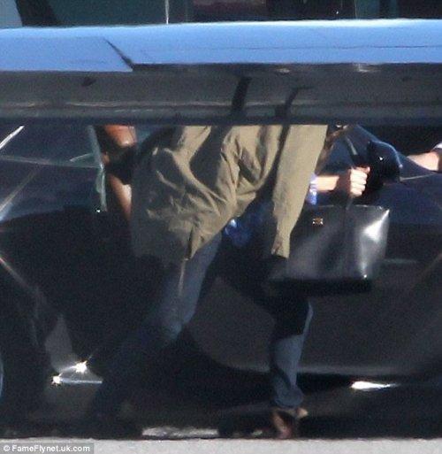 Justin y Selena viajan en un jet privado juntos