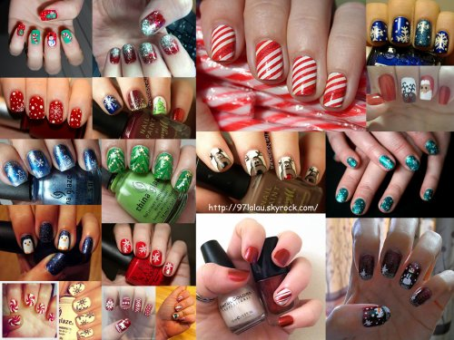 Uñas (especial navidad)