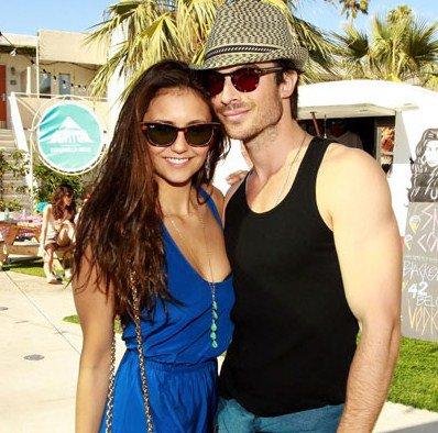 ¡Nina Dobrev y Ian Somerhalder comprometidos!