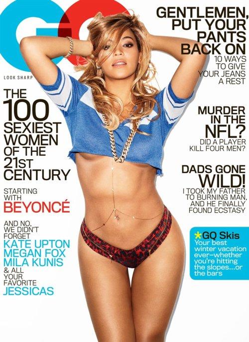 Beyoncé portada GQ febrero 2013