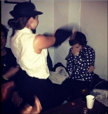 La fiesta de cumpleaños de Harry Styles