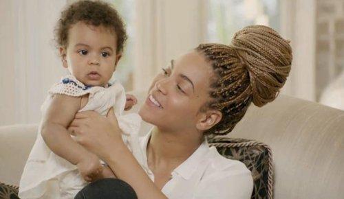 La primera foto de Blue Ivy Carter hija de Beyoncé