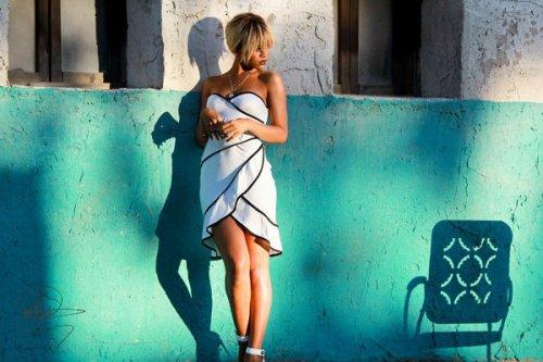 Sesión de fotos de Rihanna