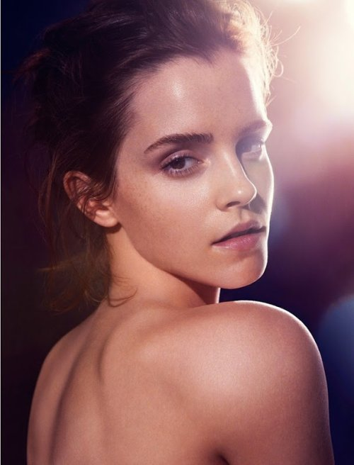"Emma Watson sin maquillaje para ""Natural Beauty"""