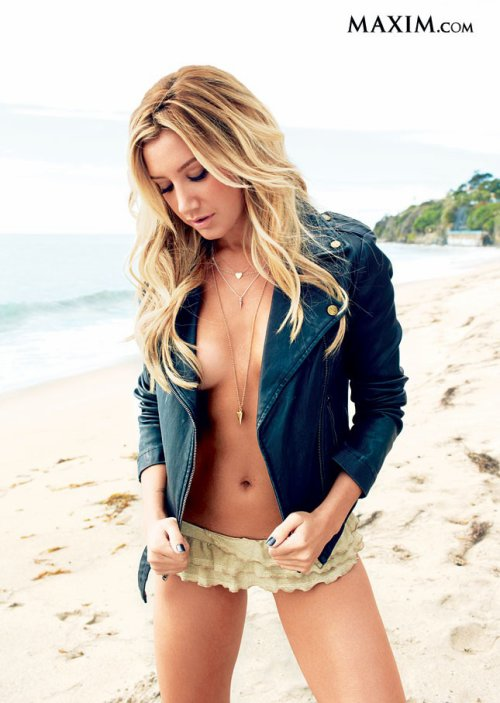 Ashley Tisadle portada de la revista Maxim (Mayo 2013)