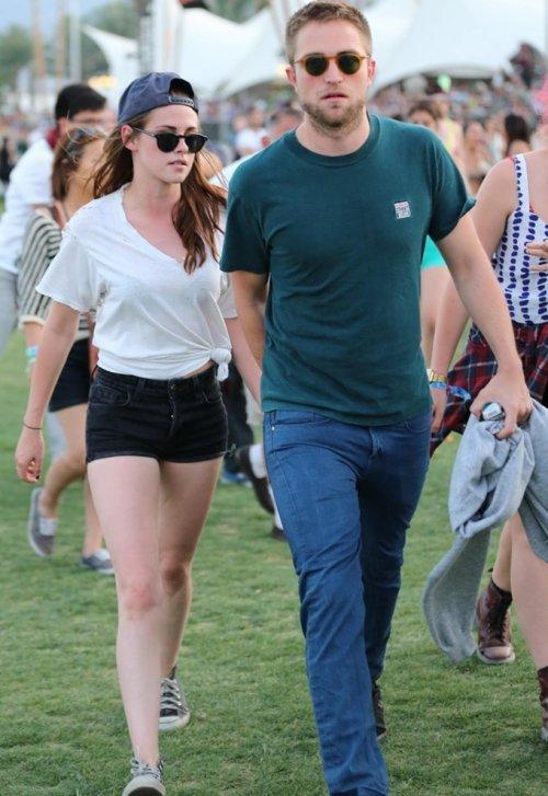 Kristen y Robert juntos en publico