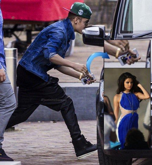 Justin Bieber tiene a Selena Gomez como fonde de su Iphone