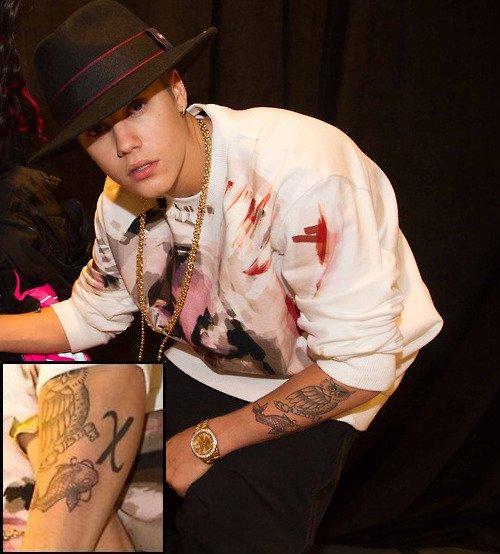 Justin Bieber nuevo tatuaje.