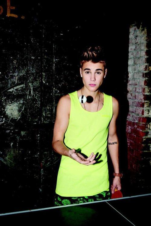 Justin Bieber para Adidas NEO