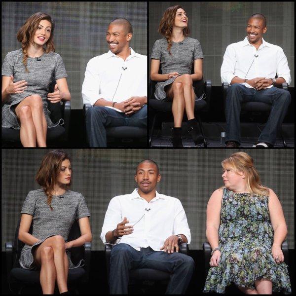 """29 Juillet 2013: Phoebe était attendu avec le cast de """"The Originals"""", à la soirée CW, CBS And Showtime 2013 Summer TCA Party."""