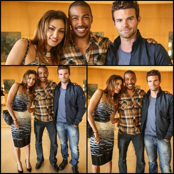 19 Juillet 2013: Phoebe était présente au Comic Con de San Diego en compagnie de ses co-stars Daniel Gillies et Charles Michael Davis.