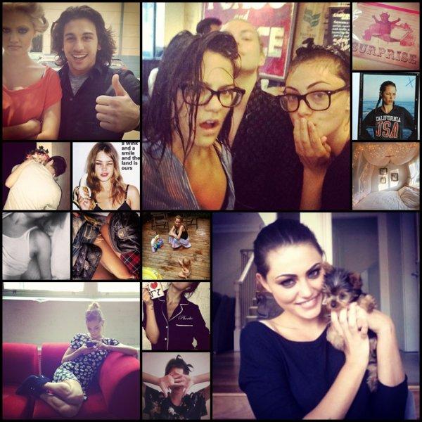 """Les filles du cast de """"The Originals"""" sont réunis pour le magazine NYLON de septembre 2013."""