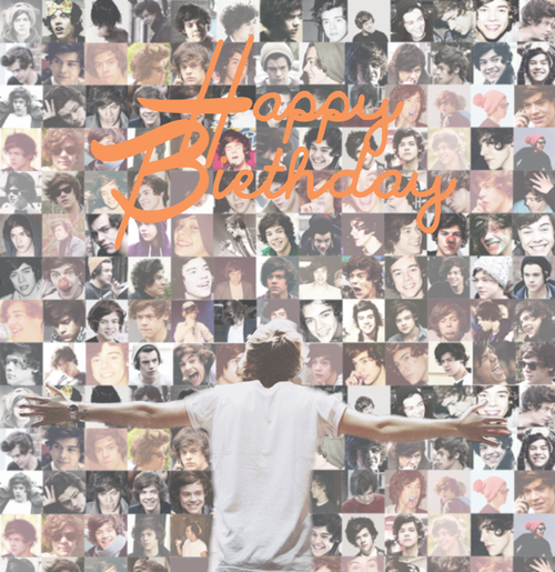 Happy Birthday Harry Edward Styles ♥