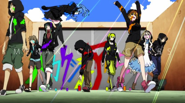 # Mekaku City Actors #