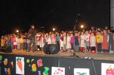 Concert de l'école primaire de Servel
