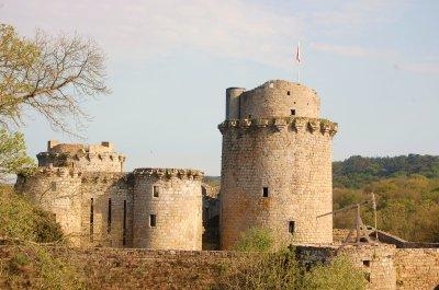 Château de Tonquédec.