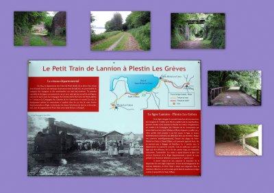 le petit train de Lannion-Plestin les Grèves