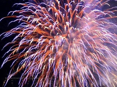 Feu d'artifice 2011