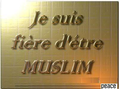 Je sui Muslim et FIER