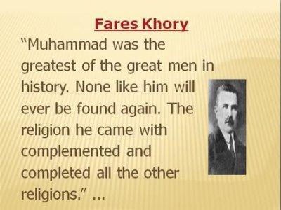 Ce k'ils Pensent de l'ISLAM et du PROPHETE MOHAMED