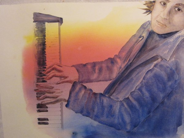 Quatre mots sur un piano...