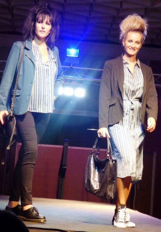 défilé de mode prêt-à-porter auscitain mannequins professionnels organisé par l'association des commerçants et artisans d'auch